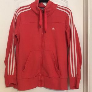 Gently worn Adidas Climalite zip up jacket.